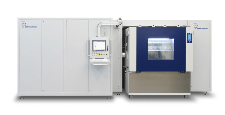 Pressure Pulsation Test Stand with Climate Chamber and PC for Data Collection
