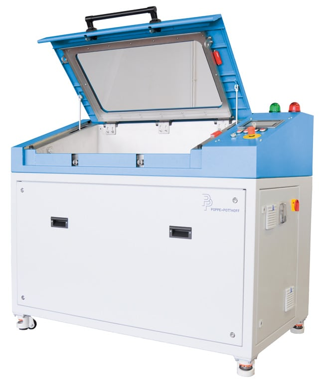Burst Pressure Test Bench with small test chamber.